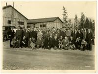 Washington Club - Visiting Galbraith Logging Camp