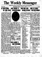 Weekly Messenger - 1919 March 15