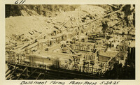 Lower Baker River dam construction 1925-05-24 Basement Forms Power House