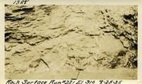 Lower Baker River dam construction 1925-09-25 Rock Surface Run #221 El.310