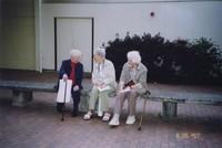 2007 Reunion--Barbara (Berglund) Bosse, Georgia (McCush) Heald and Mollie (McCush) Della Terza