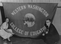 1937 Western Washington College of Education Flag
