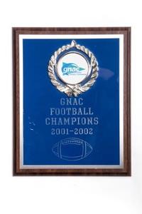Football Plaque: GNAC Football Champions, 2001/2002