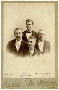John D. Leedy, Thomas W. Miller, B.B. Dobbs and T.D. Rowland