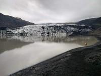 Glacier tongue in Iceland