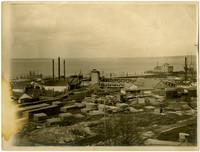 Industrial site on Bellingham waterfront