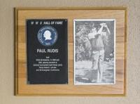 Hall of Fame Plaque: Paul Rudis, Men's Golf, Class of 1984