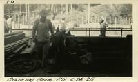 Lower Baker River dam construction 1925-06-24 Craneway Beam P.H.