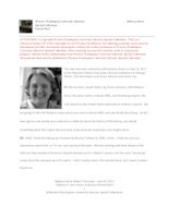 Rebecca Davis interview [transcript]