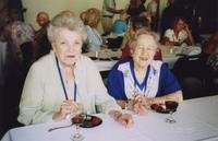 2007 Reunion--Betty (Groger West) Newell and Cheryl (Smith) Bickford