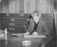 1947 Hazel Plympton, Art Teacher