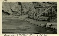 Lower Baker River dam construction 1925-06-28 Concrete 3rd Floor P.H.
