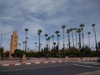Mosque in Marrakech, Morocco