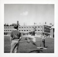 1965 Boy Doing the High Jump