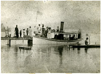 The 'Geneva' - First Steamboat on Lake Whatcom - 1888