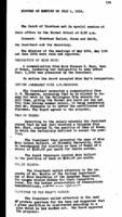 WWU Board minutes 1916 July
