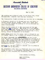 AS Board Minutes 1951-05