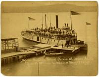 Baptist Sunday School Picnic at Orcas Island, June 4, 1888