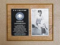 Hall of Fame Plaque: Charles Lappenbusch, Administrator, Coach, Class of 1976