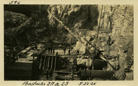 Lower Baker River dam construction 1925-05-22 Penstocks 2N & 2S
