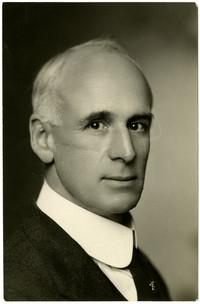 Studio portrait of R.W. Clark