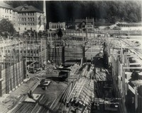 1927 Library Construction
