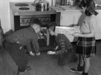 1943 Third Grade Cooking