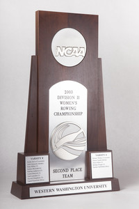 Rowing (Women's) Trophy: 2003 NCAA Division 2 Championship, 2nd Place, 2003