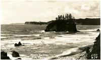 Abbey Island, Ruby Beach, Pacific Ocean