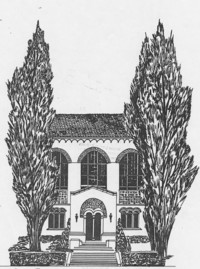 1951 Library: Drawing