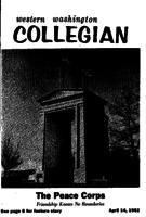 Western Washington Collegian - 1961 April 14