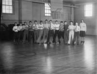 1930 Boys In Gymnasium
