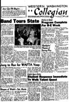 Western Washington Collegian - 1957 April 5