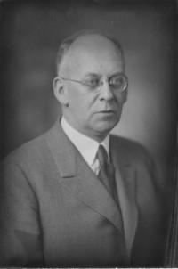 1934 President Charles Henry Fisher