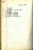 AS Board Minutes 1941-04