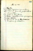 AS Board Minutes 1941-11