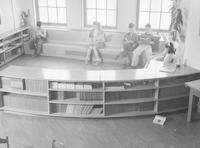 1943 Reading Corner In Fifth Grade Classroom