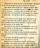 AS Board Minutes 1946-05