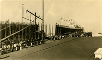 Bellingham ship launching in 1917
