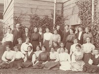 1909 Second Year Class