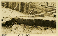 Lower Baker River dam construction 1925-03-02 Concrete box drains