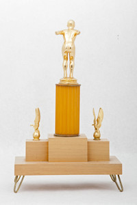 Swimming (Men's) Trophy: Evergreen Conference Champions (back), 1956