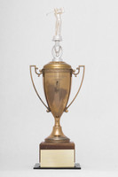 Golf (Men's) Trophy: Evergreen Conference Champions, 1972