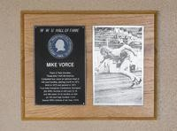 Hall of Fame Plaque: Mike Vorce, Track and Fielder (Hurdler), Class of 1983