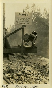 Lower Baker River dam construction 1924-09-17 (warning sign)
