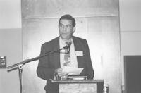 1993 Reunion--Curt Smith Addresses Banquet Attendees