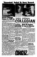 Western Washington Collegian - 1962 July 13