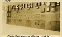 Lower Baker River dam construction 1925-11-12 Main Switchboard Room