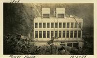 Lower Baker River dam construction 1925-10-21 Power House