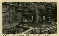 Lower Baker River dam construction 1925-05-08 Foundation Steel 1S & 2N
